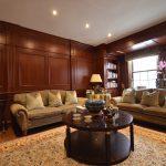 Mobilier intégré, panneaux muraux (lambris) et panneaux de plafond