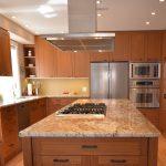 Engineer teak kitchen cabinets