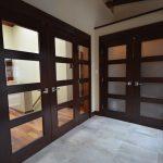 Mahogany wood doors, frames and trims
