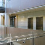 DOLLARAMA HEAD OFFICE : engineered wood wall panels ans doors