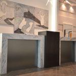 LE PETERSON : reception desk